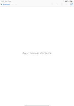 Apple iPad Pro 11 (2018) - E-mail - Envoi d