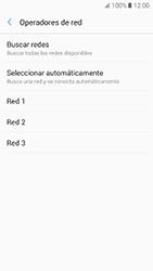Samsung Galaxy A5 (2017) (A520) - Red - Seleccionar una red - Paso 9