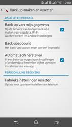 Sony Xperia E4g (E2003) - Resetten - Fabrieksinstellingen terugzetten - Stap 5