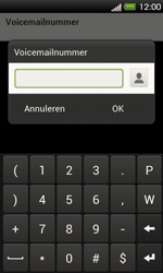 HTC T320e One V - Voicemail - Handmatig instellen - Stap 7