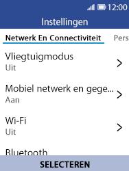 Nokia 8110 - Netwerk selecteren - Handmatig een netwerk selecteren - Stap 5