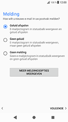Sony Xperia XZ - Android Oreo - E-mail - e-mail instellen (outlook) - Stap 14