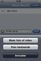 Apple iPhone 3G S - MMS - afbeeldingen verzenden - Stap 7