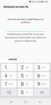 Samsung Galaxy A8 - Sécuriser votre mobile - Activer le code de verrouillage - Étape 9