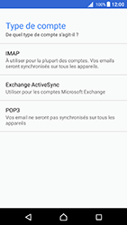 Sony Xperia X - Android Nougat - E-mail - Configuration manuelle - Étape 10