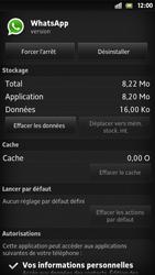 Sony Xpéria S - Applications - Supprimer une application - Étape 7