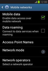 Samsung S6790 Galaxy Fame Lite - Internet - Manual configuration - Step 6