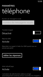 Nokia Lumia 1520 - Messagerie vocale - configuration manuelle - Étape 7