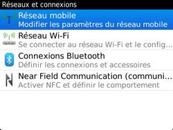 BlackBerry 9360 Curve - Internet - Activer ou désactiver - Étape 5