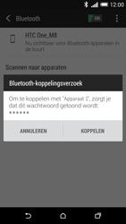 HTC One M8 - Bluetooth - Koppelen met ander apparaat - Stap 7