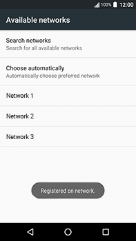 Acer Liquid Zest 4G Plus - Network - Manually select a network - Step 10