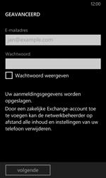 Nokia Lumia 630 - E-mail - Handmatig instellen - Stap 9