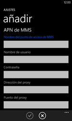 Nokia Lumia 520 - Internet - Configurar Internet - Paso 12