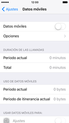Apple iPhone SE iOS 10 - Internet - Activar o desactivar la conexión de datos - Paso 5