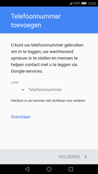 Huawei P10 (Model VTR-L09) - Applicaties - Account aanmaken - Stap 13
