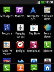 LG E400 - SMS - Como configurar o centro de mensagens -  3