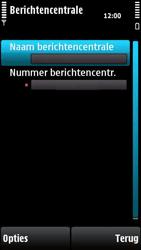 Nokia X6-00 - SMS - handmatig instellen - Stap 8