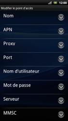 Sony Ericsson Xperia Arc S - Mms - Configuration manuelle - Étape 10