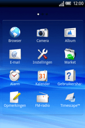 Sony Ericsson Xperia X8 - MMS - handmatig instellen - Stap 3