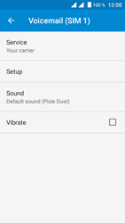 Crosscall Trekker M1 Core - Voicemail - Manual configuration - Step 9