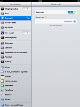 Apple iPad 4th generation - Bluetooth - koppelen met ander apparaat - Stap 9