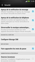 HTC One - Sécuriser votre mobile - Personnaliser le code PIN de votre carte SIM - Étape 5