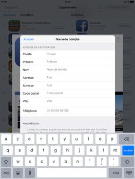 Apple iPad Pro (9.7) - Applications - Télécharger des applications - Étape 17