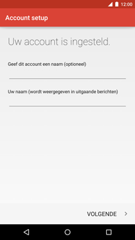 Motorola Nexus 6 - E-mail - Account instellen (POP3 zonder SMTP-verificatie) - Stap 24