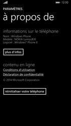 Nokia Lumia 830 - Device maintenance - Retour aux réglages usine - Étape 6