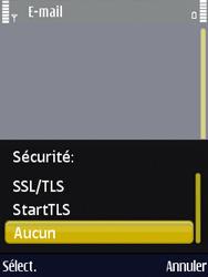 Nokia N86 - E-mail - Configuration manuelle - Étape 13