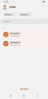 Samsung galaxy-s9-sm-g960f-android-pie - Contacten en data - Contacten kopiëren van toestel naar SIM - Stap 10