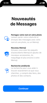 Apple iPhone X - iOS 13 - MMS - Envoi d