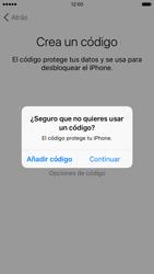Apple iPhone 6s iOS 9 - Primeros pasos - Activar el equipo - Paso 16