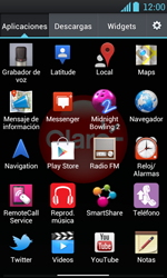 LG Optimus L7 - Internet - Configura el Internet - Paso 21