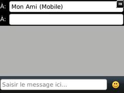 BlackBerry 9320 Curve - MMS - Envoi d