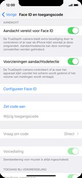 Apple iPhone X - Beveiliging en ouderlijk toezicht - Toegangscode uitschakelen - Stap 7