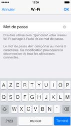 Apple iPhone 5s - Internet et connexion - Partager votre connexion en Wi-Fi - Étape 7