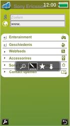 Sony Ericsson U10i Aino - Internet - Hoe te internetten - Stap 4