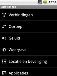 LG P350 Optimus Me - Internet - handmatig instellen - Stap 4