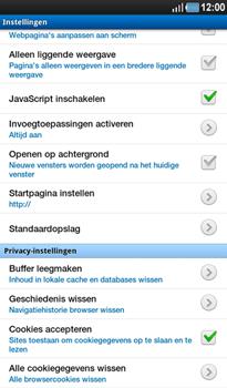 Samsung P1000 Galaxy Tab - Internet - Handmatig instellen - Stap 14