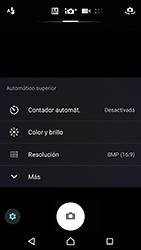 Sony Xperia XZ (F8331) - Funciones básicas - Uso de la camára - Paso 10