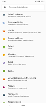 Sony Xperia 1 - Bellen - in het binnenland - Stap 4