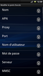 Sony Ericsson Xperia Arc - Internet - Configuration manuelle - Étape 10