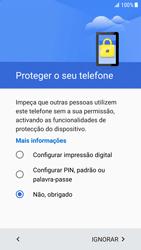Samsung Galaxy S6 Edge - Android Nougat - Primeiros passos - Como ligar o telemóvel pela primeira vez -  10