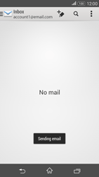 Sony E2003 Xperia E4 G - Email - Sending an email message - Step 15