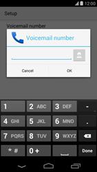 LG D821 Google Nexus 5 - Voicemail - Manual configuration - Step 10