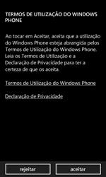 Nokia Lumia 625 - Primeiros passos - Como ligar o telemóvel pela primeira vez -  7