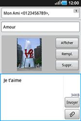 Samsung S5830 Galaxy Ace - MMS - envoi d'images - Étape 10