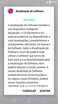 LG G5 Stylus - Funções básicas - Como atualizar o software do seu aparelho - Etapa 7