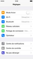 Apple iPhone 5c - Internet et connexion - Activer la 4G - Étape 3